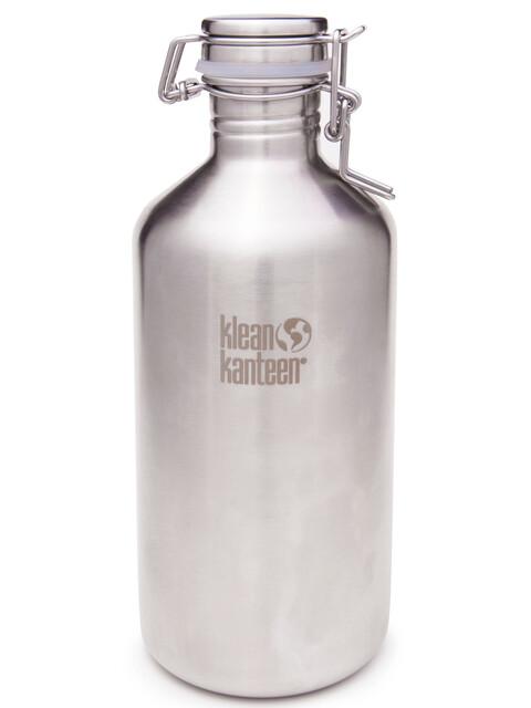 Klean Kanteen Classic Growler Drinkfles met Swing Lok Cap 1182 ml zilver